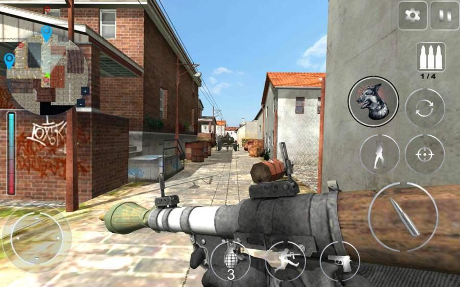 Secret Agent Lara FPS : Shooter Action Game