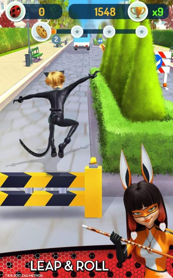 瓢虫少女与黑猫