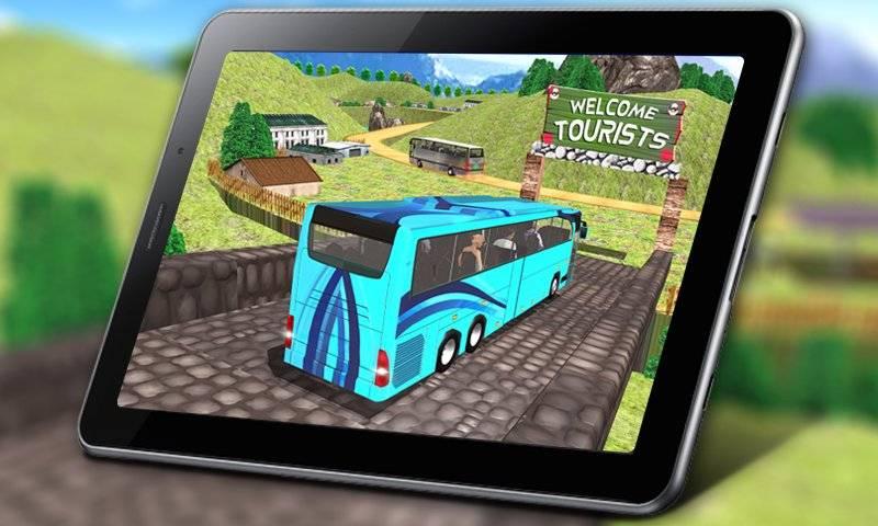 教练巴士模拟器2018年 - 移动巴士驾驶截图6