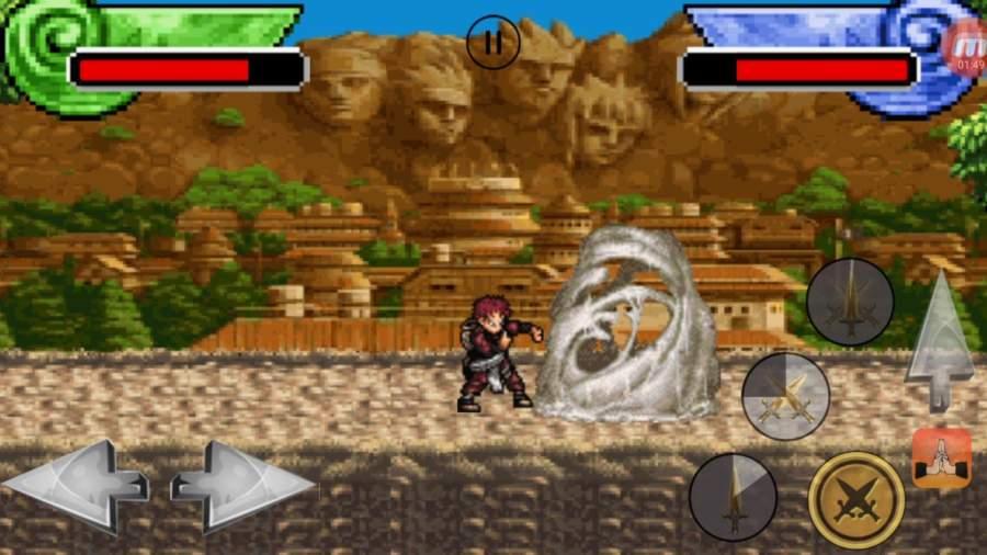 Shinobi Ninja War截图2