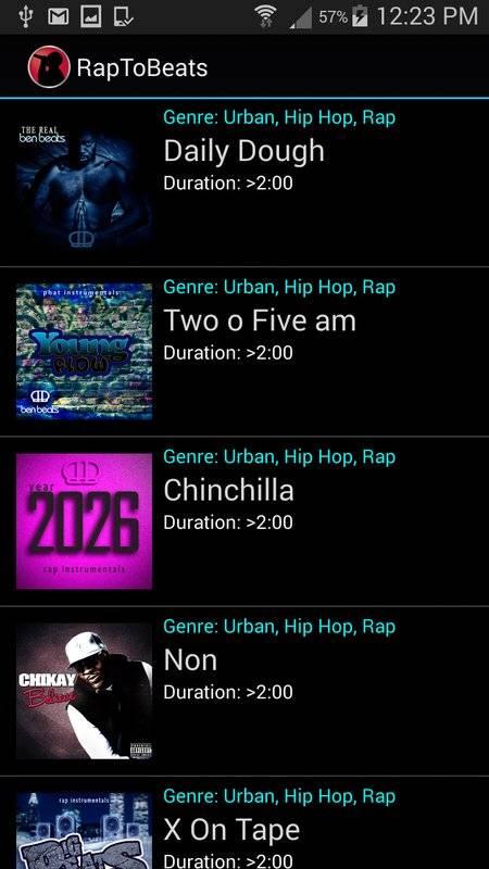 Rap To Beats截图2