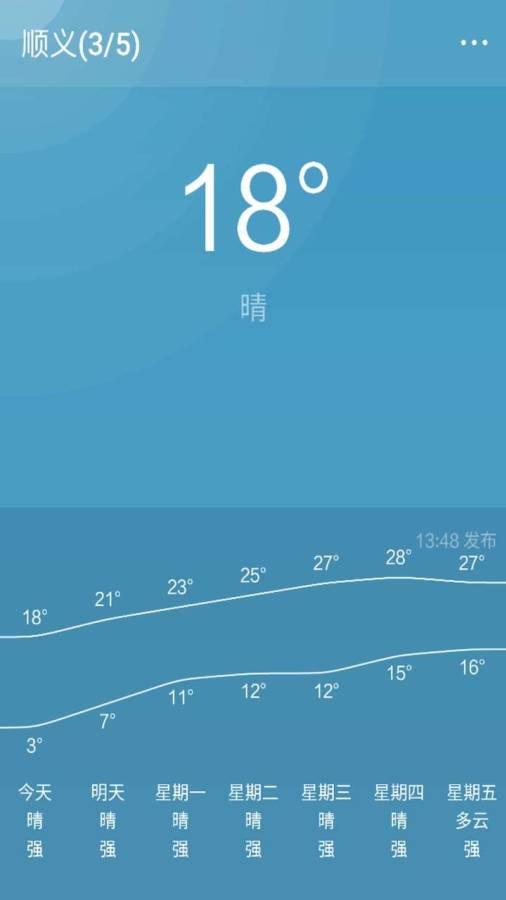 天气预报通