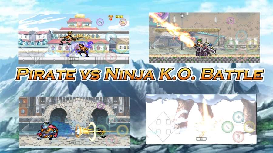 海贼vs火影K.O.战斗截图1