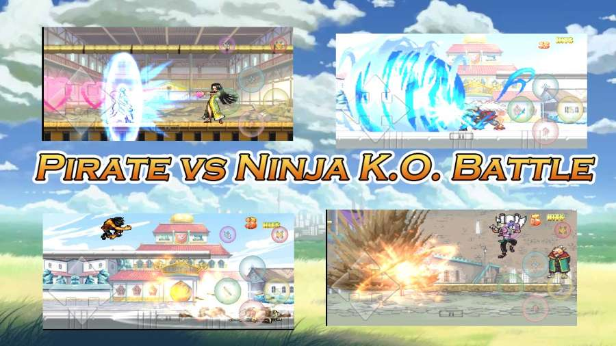 海贼vs火影K.O.战斗截图3