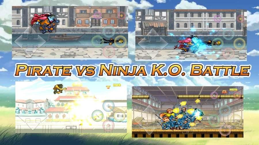 海贼vs火影K.O.战斗截图4
