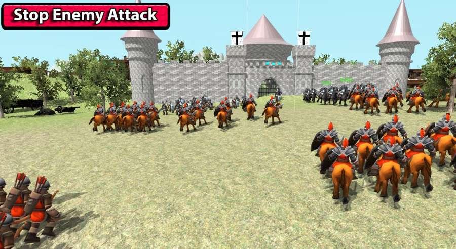 中世纪战争3D截图0