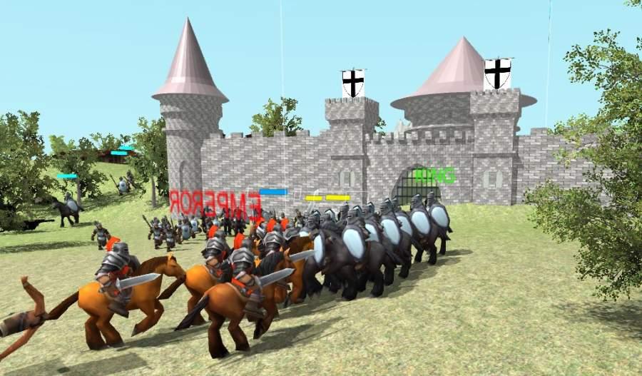 中世纪战争3D截图1