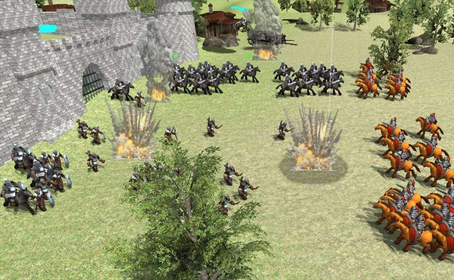 中世纪战争3D截图2