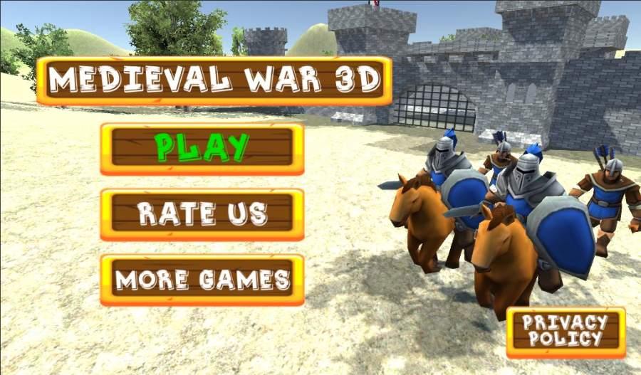 中世纪战争3D截图3