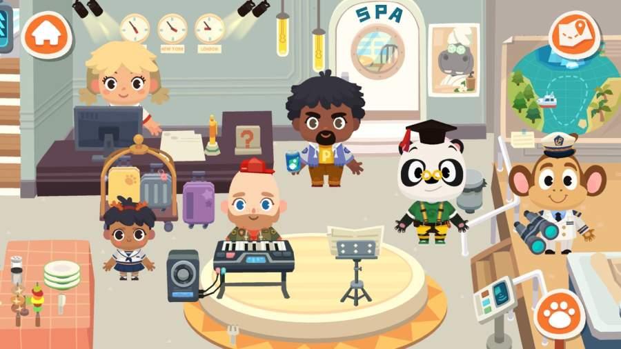 熊猫博士小镇:度假截图1