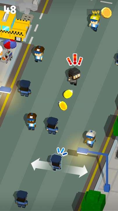 方块警察捉强盗截图1