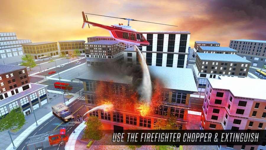 美国消防员市救援任务截图1