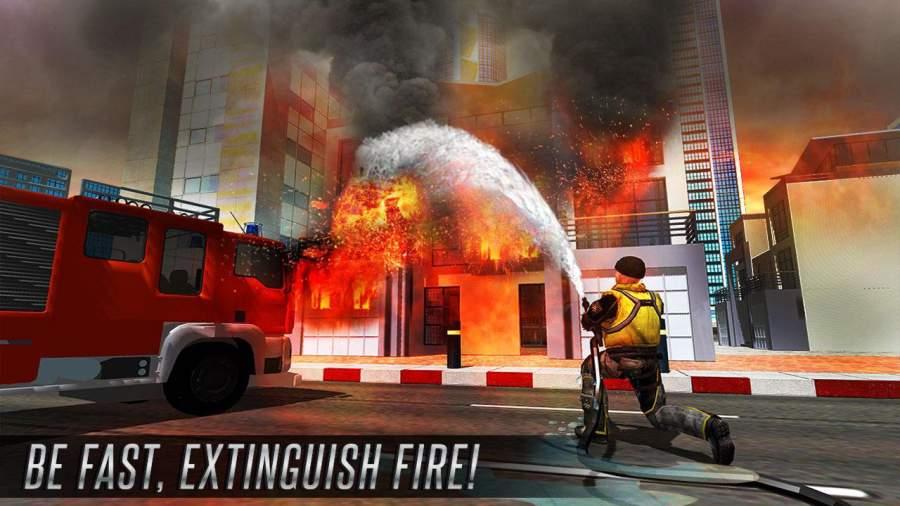 美国消防员市救援任务截图10