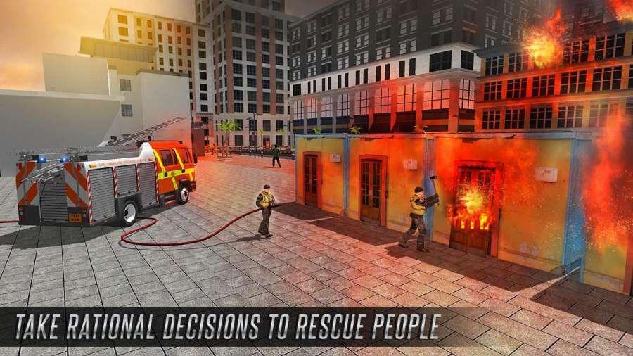 美国消防员市救援任务截图3