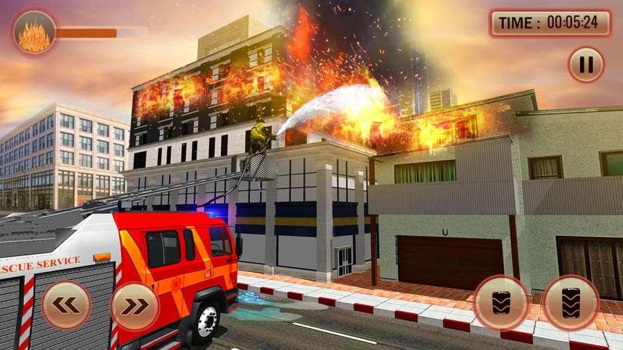 美国消防员市救援任务截图4