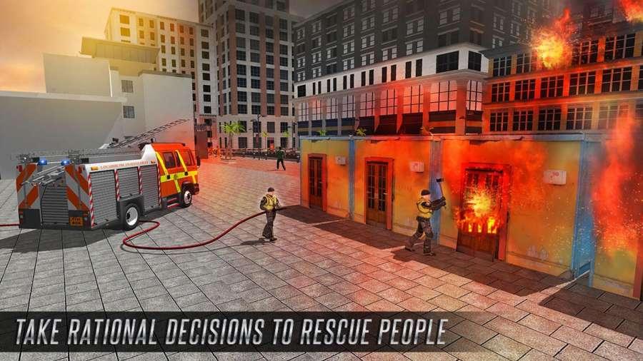 美国消防员市救援任务截图8