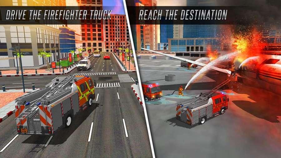 美国消防员市救援任务截图9