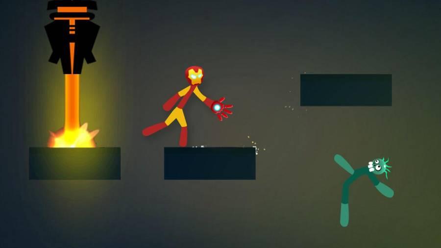 火柴人战斗:游戏截图1