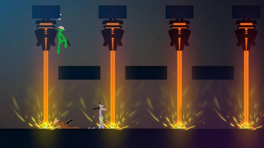 火柴人战斗:游戏截图2