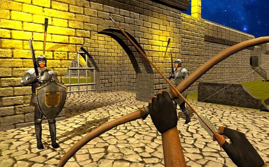 弓箭头师傅:城堡战争截图0