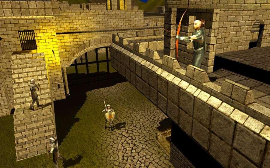 弓箭头师傅:城堡战争截图1