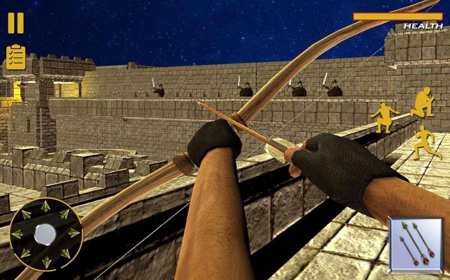 弓箭头师傅:城堡战争截图2