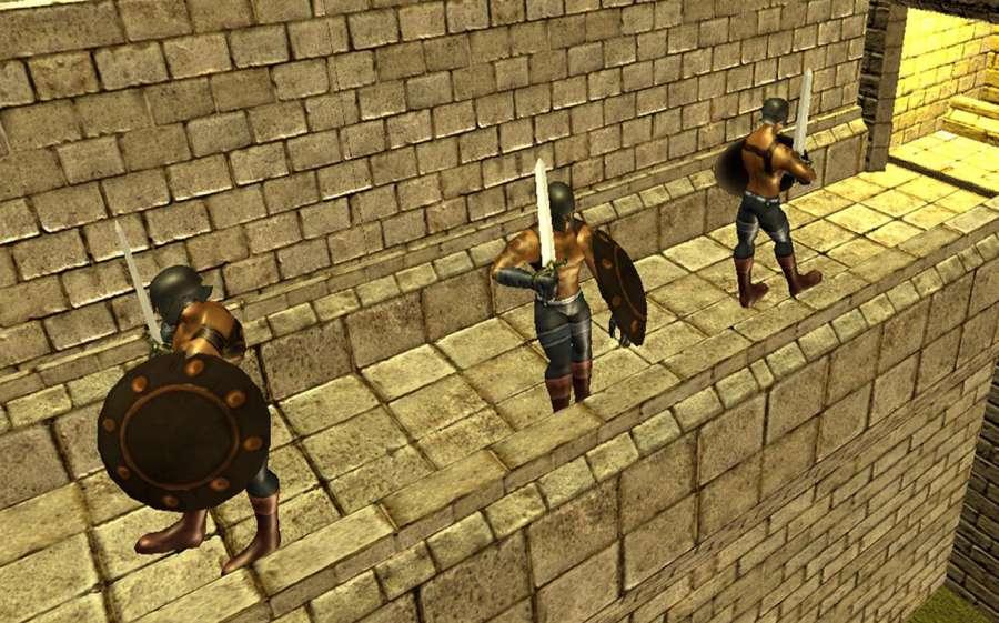 弓箭头师傅:城堡战争截图4