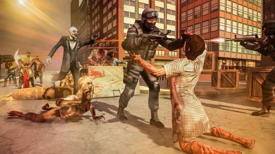 城市生存射手 - 僵尸防御截图2