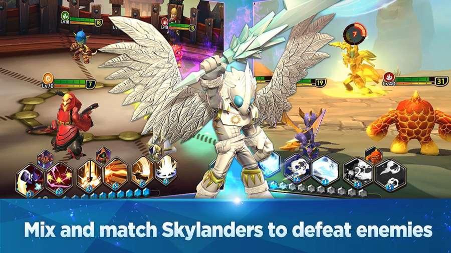 Skylanders Ring of Heroes CBT截图5