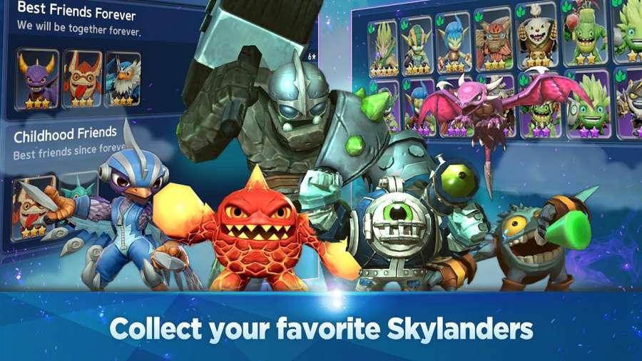 Skylanders Ring of Heroes CBT截图7
