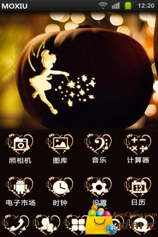 天使魔法棒桌面主题—魔秀|玩工具App免費|玩APPs