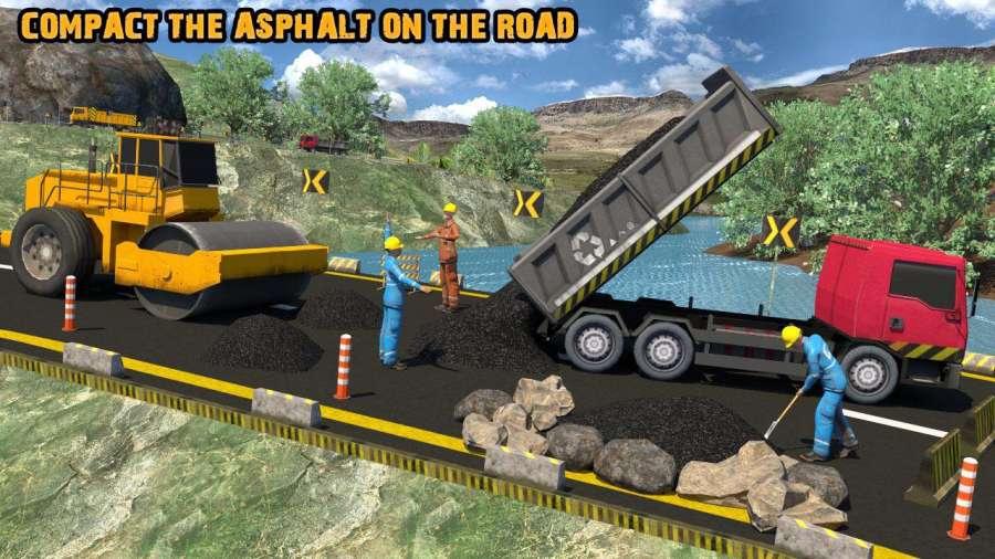 真正的道路建设18 - 重型挖掘机模拟器截图2