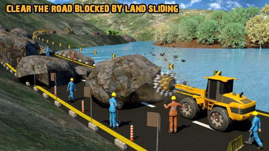 真正的道路建设18 - 重型挖掘机模拟器截图3