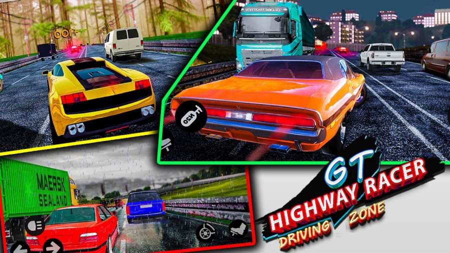 GT赛车公路:驾驶区