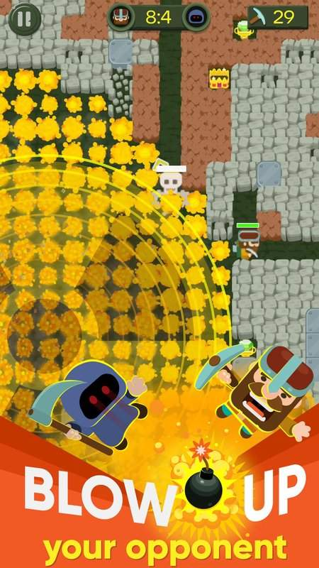 Dig Bombers : PvP multiplayer digging fight截图3
