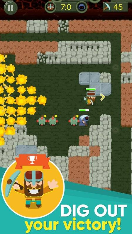 Dig Bombers : PvP multiplayer digging fight截图4