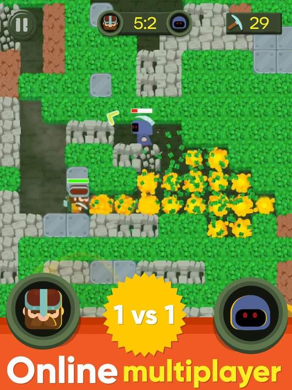 Dig Bombers : PvP multiplayer digging fight截图7