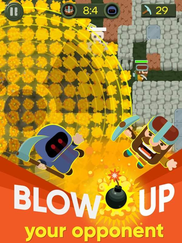 Dig Bombers : PvP multiplayer digging fight截图8