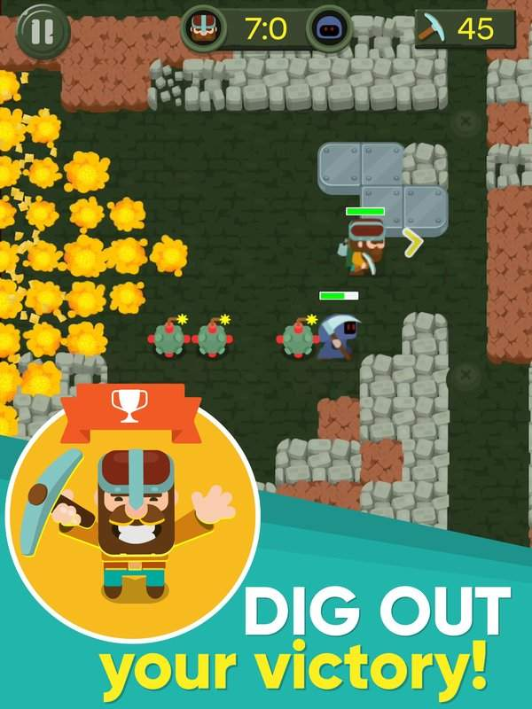 Dig Bombers : PvP multiplayer digging fight截图9