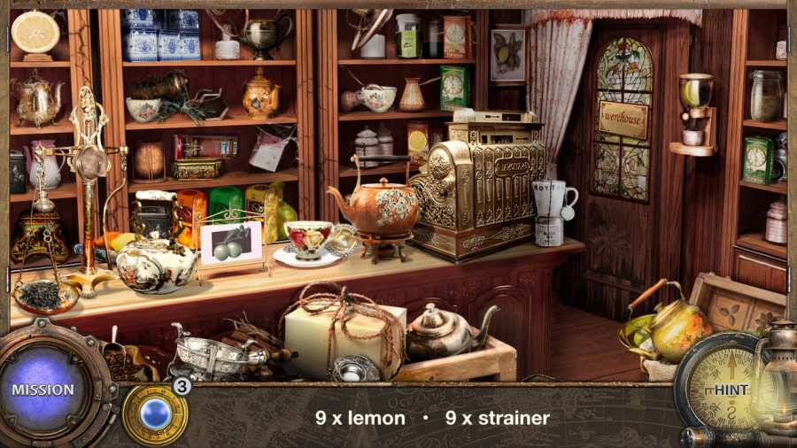 環遊世界八十天 - 隐藏的对象冒险游戏。隐藏物品截图4