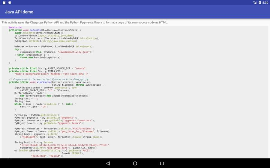 Chaquopy: Python 3 for Android截图10