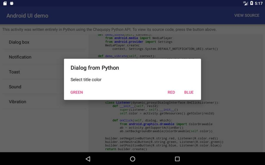 Chaquopy: Python 3 for Android截图8