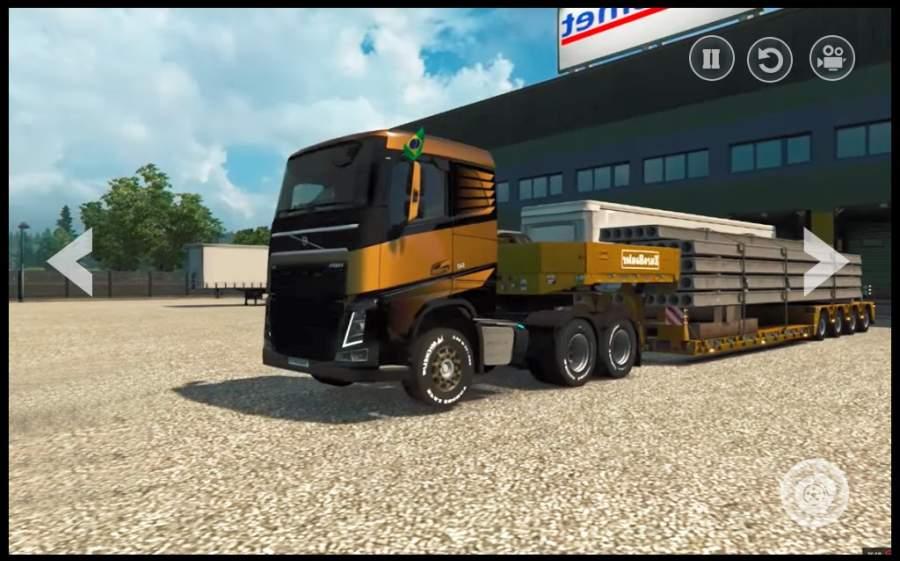 欧洲卡车: 越野货物驱动游戏模拟器3D