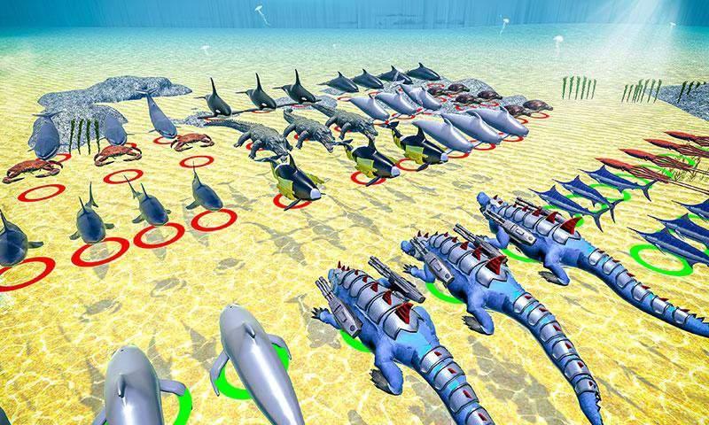 海怪史诗般的战斗:新的战斗模拟器截图4