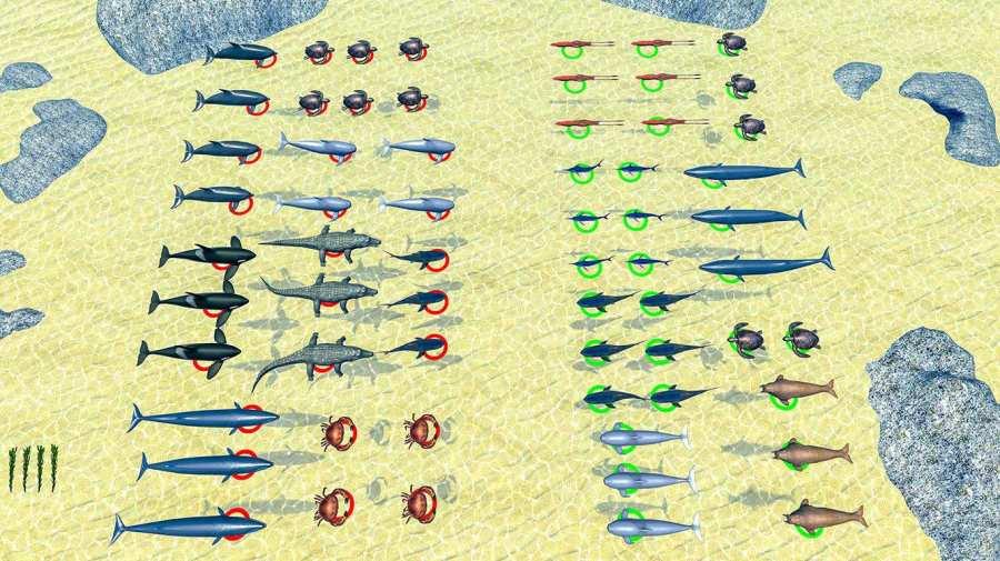 海怪史诗般的战斗:新的战斗模拟器截图7