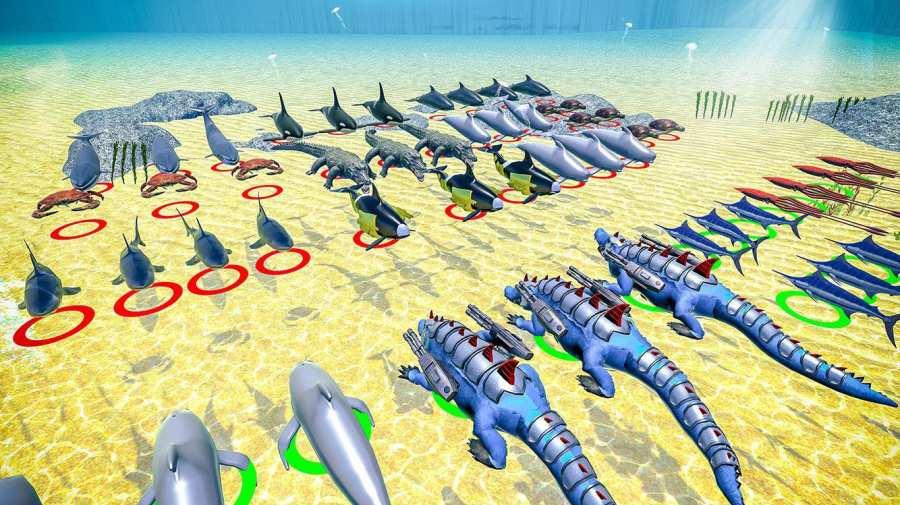 海怪史诗般的战斗:新的战斗模拟器截图8