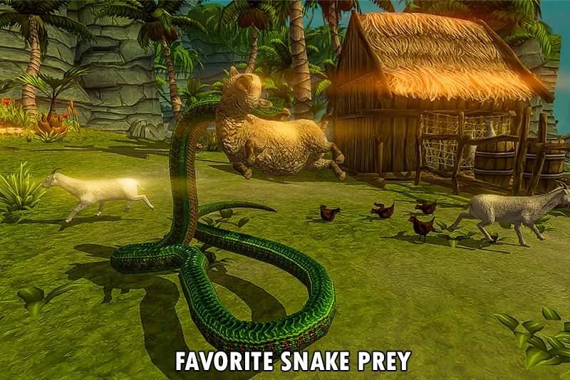野生蟒蛇动物猎人截图0