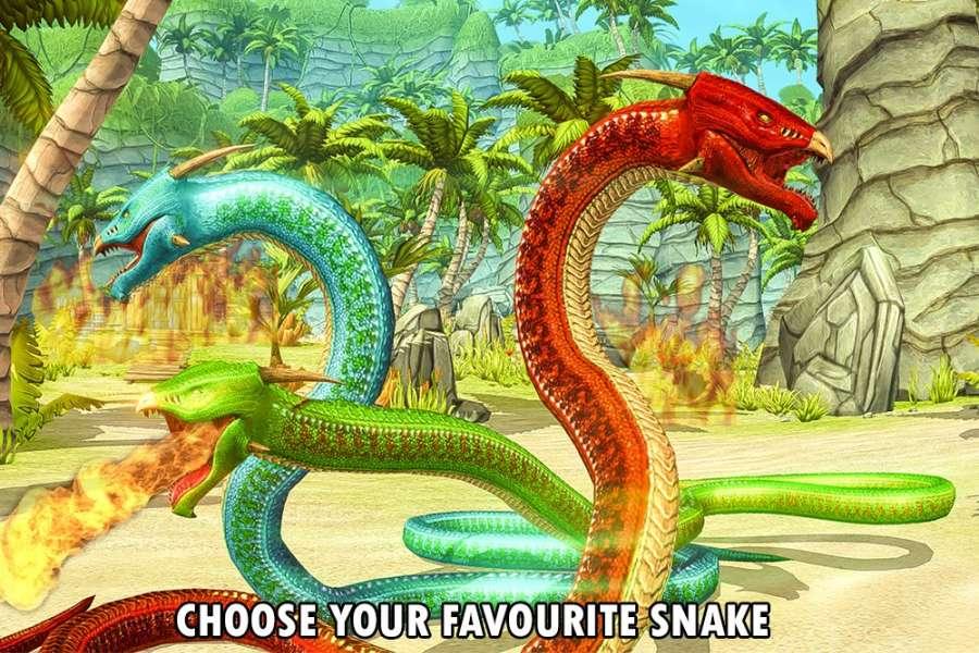 野生蟒蛇动物猎人截图2