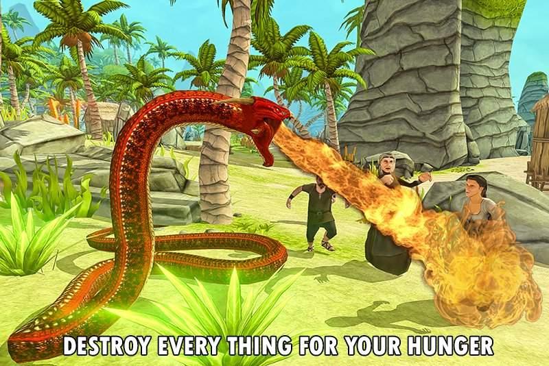 野生蟒蛇动物猎人截图6