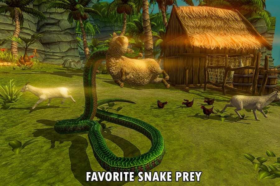 野生蟒蛇动物猎人截图8